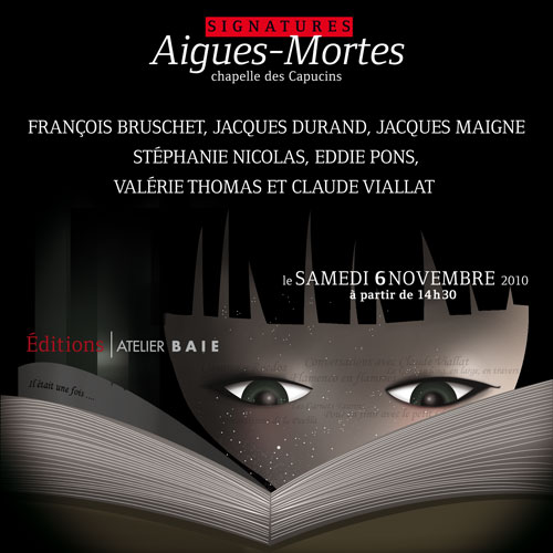 salon du livre d'Aigues-Mortes 2010