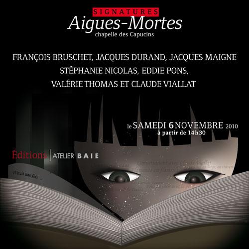 salon du livre d'Aigues-Mortes 2010