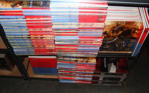livres en stock