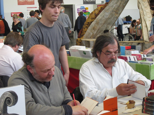 Ludovic Pautuer, Arthur Cabaret et Jacques Maigne
