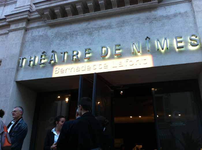Théâtre Bernadette Lafont à Nîmes
